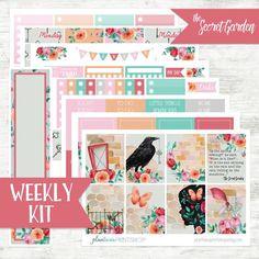Hello Spring over 250 stickers on premium matte Life Planner Sticker Kit