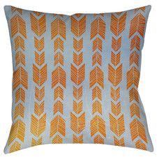 Featherwood Printed Throw Pillow