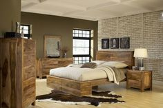 Rustic & Reclaimed - eclectic - beds - san diego - Real Deal Furniture & Mattress