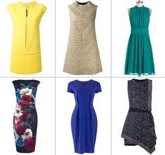 dresses rectangle body shape