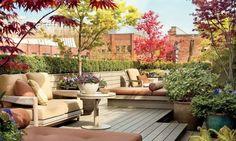 Оформляем террасу на крыше дома для летних посиделок (32 фото)