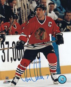 AAA Sports Memorabilia LLC - Chris Chelios Chicago Blackhawks - Action - Autographed 8x10 Photograph, $99.99 (http://www.aaasportsmemorabilia.com/nhl/chris-chelios-chicago-blackhawks-action-autographed-8x10-photograph/)