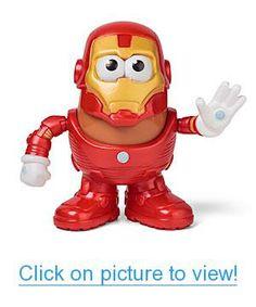Iron Man Mr. Potato Head Geek #Toys #Other #Geeky #Toys