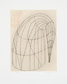 Etching with drypoint and chine collé. plate: 23 x 17 x 45 cm); sheet: 34 x 27 x cm). Anna Marie and Robert F. Drawings and Prints Abstract Sculpture, Abstract Art, Martin Puryear, Giorgio Vasari, Wind Sculptures, Artist Sketchbook, Royal Academy Of Arts, Bachelor Of Fine Arts, List Of Artists