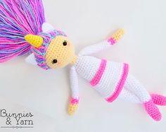 CROCHET PATTERN Sweet Rabbit Sweet Dreams by BunniesandYarn