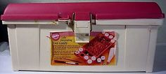 Wilton Cake Decorating Tool Caddy LOADED WITH TIPS & TOOLS EXTRAS Ready To Use