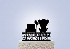 Matrimonio tema UP cake topper poltrone carl ellie. Wedding theme movie UP Disney. #wedding