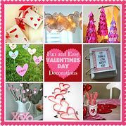 Best and Cute DIY Valentine Decorations for Your Home Valentine Tree, Little Valentine, Rustic Candle Holders, Paper Wall Art, Giant Flowers, Homemade Valentines, Do It Yourself Crafts, Valentine's Day Diy, Valentine Decorations