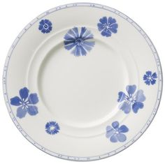 "Villeroy & Boch Farmhouse Touch Blue Flowers Bread & Butter Plates by Villeroy & Boch - Premium Porcelain - Country Coll. $12.34. Dimensions: 6 1/2"" Dia. Brand New - First Quality. Bread & Butter Plates - Farmhouse Touch Emerges As A Contemporary Table Concept Of Simple Products Suitable For Everyday Use In The Kitchen And At The Table, Products That Are Multi-Functional And Combine Perfectly Together. - Made In Germany. Save 35%!"