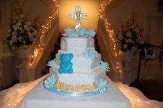 CUSTOMISED CAKES BY JEN: Baby Boy Christening Cake