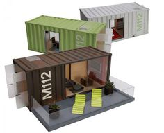 mamãe sabe tudo: fofices do design: model container homes