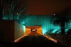 Light Installations by Tamar Frank