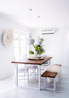 #WestwingNL. white dining. Voor meer inspiratie: westwing.me/shopthelook