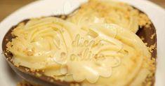 Fantástico! Receita de coração de chocolate recheado com brigadeiro de paçoca! - # #brigadeiro #chocolate #coração #Paçoca #receitadesobremesarapida