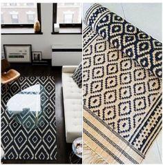 Shop this look! BLACK CONSTELLATION Royal DARI Floor Rugs  by DaintyRedBird, $29.50