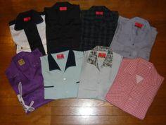 クリームソーダ 美品半袖シャツ 17枚セット ロカビリー 1950_画像1