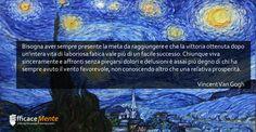 Una riflessione di Vincent Van Gogh.