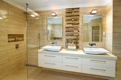 His Her Bathroom Inspiration Simple Spa Renos