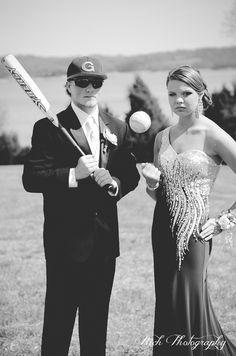 Prom  if Zac is lucky enough to take a softball player to prom... I'm totally doing this!!