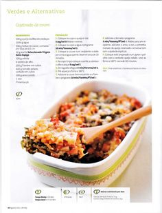Revista bimby 2011.08 n09 Kitchen Time, Cooking Tips, Food And Drink, Low Carb, Yummy Food, Favorite Recipes, Lunch, Healthy Recipes, Meals