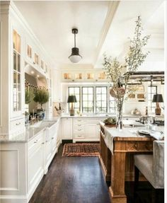 modern farm style kitchen