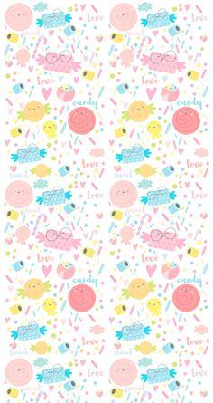 La tienda de dibus: [freebie] Sweet Candy Wallpaper para móvil