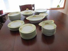 VINTAGE 49 Pc Unmarked Japan IMARI PORCELAIN HANDPAINTED DINNERWARE CIRCA 1960'S | eBay 1960s House, Dinnerware, Porcelain, Hand Painted, Japan, Tableware, Kitchen, Vintage, Ebay