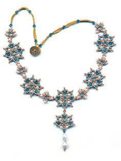 Renaissance Medallion Beaded Necklace   Flickr - Photo Sharing!