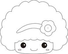 cute hair idea for dolls
