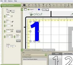 Cricut Craftroom Tutorials, new to reflect update to the program - Aug. 2012