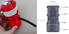Build Your Own 3D Printed, USB-Powered Mini Vacuum Cleaner [3D Printing: http://futuristicnews.com/tag/3d-printing/]