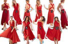 Victoria's Secret convertible flirty dress