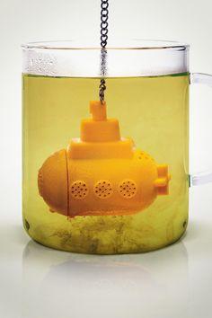 Infusor de chá Yellow Submarine
