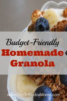 I love granola. It's one of my favorite breakfasts–quick, tasty, and healthy. However, lately I have been paying more attention to the ingredients in my foods and noticed something disturbing: There was a whole lot of sugar and additives in my granola. Was my healthy breakfast actually unhealthy?  You see, this past summer I ... Read more