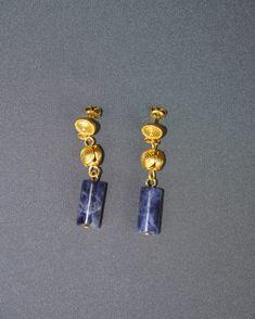 Our kind of Monday Blues: Sodalite Drop Earrings & Sodalite Gemstone Bracelet Statement Earrings, Drop Earrings, Cheap Rings, Handcrafted Jewelry, Handmade, Jewelry Design, Jewellery, Gemstones, Bracelets