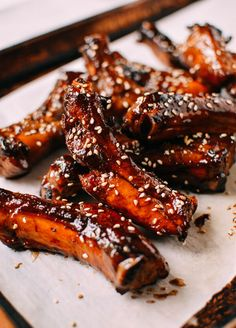 Sibas table recipes sweet sticky ribs asian food channel honey glazed ribs recipe by thewoksoflife forumfinder Images