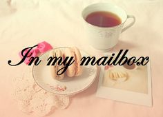 In my mailbox Mailbox, Tableware, Livres, Mail Drop Box, Dinnerware, Post Box, Dishes, Mail Boxes, Porcelain Ceramics