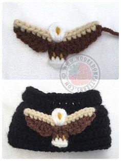 Eagle free crochet pattern