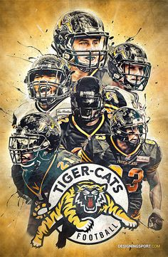 Daring Boy Interactive is the sports art and design studio of Matt Sharpe, proudly based in beautiful Guelph, Canada. Football Images, Sports Images, Sports Art, Football Cards, Football Team, College Football, Canadian Football League, American Football, Cat Memorial
