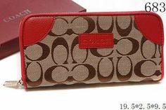 Cute Coach wallet