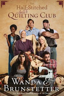 *The Half-Stitched Amish Quilting Club by Wanda E Brunstetter - The first book in the Half-Stitched Amish Quilting Club series