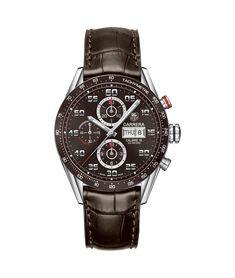 TAG Heuer Carrera Calibre 16 Day-Date Chronographe automatique 100 M - 43 mm CV2A1S.FC6236 Prix des montres TAG Heuer