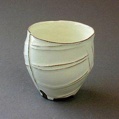 Tea cup series by husband and wife collaboration Satoru and Kayoko Hoshino from the savoir vivre gallery, Rappongi, Tokyo