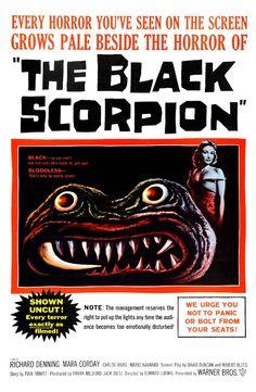 """1957 -- """"The Black Scorpion"""""""