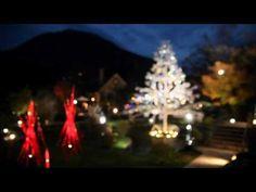 箱根ガラスの森美術館: 'Hakone Venetian Glass Museum' shining crystal glass and Christmas tree.