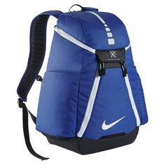 Nike Hoops Elite Max Air Team Basketball Backpack Game Royal Black White   Designed for to be lightweight 4f3841658a48e