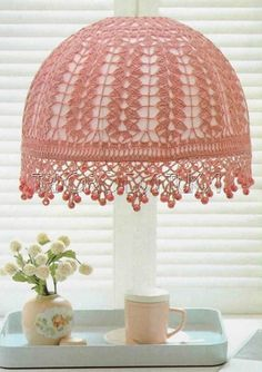 """Romantic Lampshade"" with diagram"