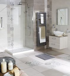 salle de bain carreaux ciment