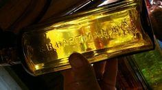 (SCARCE)YELLOW GOLDEN AMBER DR.S.B HARTMAN&CO.MISHLERS HERB BITTERS in Collectibles, Bottles & Insulators, Bottles   eBay