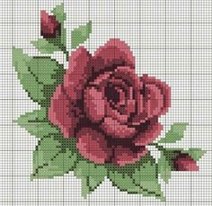 This Pin was discovered by Ren Cross Stitch Books, Cross Stitch Rose, Cross Stitch Flowers, Cross Stitch Kits, Cross Stitch Designs, Cross Stitch Patterns, Cross Stitching, Cross Stitch Embroidery, Hand Embroidery